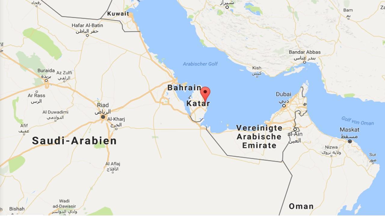 Doha Qatar In Harta Lumii Harta De Doha Qatar Pe Harta Lumii